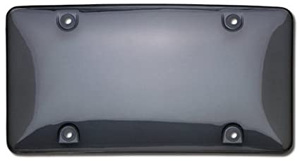 Smoke Cruiser Accessories 73200 Tuf Bubble Shield License Plate Shield//Cover