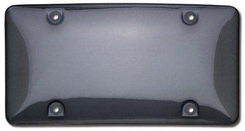 Cruiser Accessories 73200 Tuf Bubble Shield License Plate Shield/Cover, Smoke (Shield Plate License)