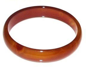 Rust Agate Bangle ~ 67mm