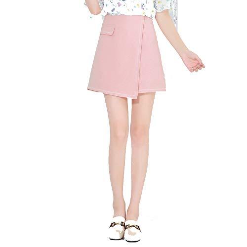 L'Automne Irrguliers Jupe AINIF Courte Mode Hiver Jupe Femme Haute Une La Taille Porter Est La Rose wzqtzA