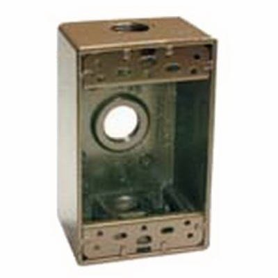 Raco #5320-7 Bronze WP 1G Outlet Box