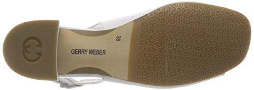 GERRY WEBER Damen Antonia 01 Slingback Pumps Weiß (Weiss)