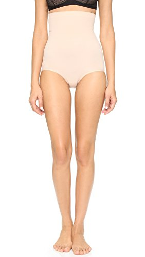 SPANX Women's Higher Power Panties Soft Nude LG
