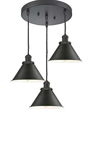 - Innovations Lighting 211/3-OB-M11 Three Light Pendant