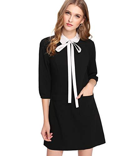 peter pan collar dress xs - 2