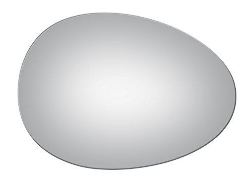 (Convex Passenger Side Mirror Replacement Glass for 2007-2015 MINI)