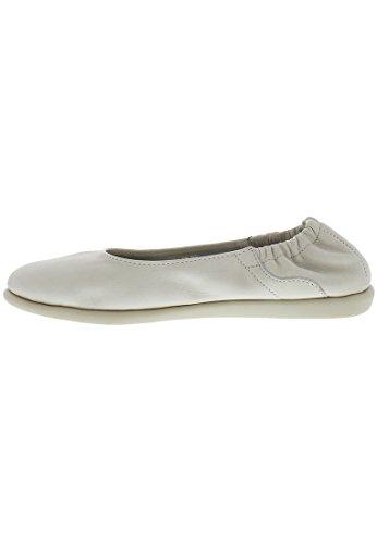 Softinos Damen Vis275sof Ballerinas Weiß