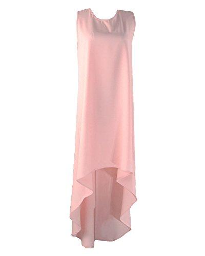 Bohme Irrgulire Robe Longue Cocktail Robe Bas Pink Femme Plage De Party qft6wgnU