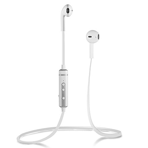 Bluetooth Headphones, INNLIFE Wireless Headphones V4.1 Stereo Earphones Noise Cancelling Earbuds Sports Sweatproof Headset with Mic for iPhone 7 Samsung Galaxy S7 and Android Phones