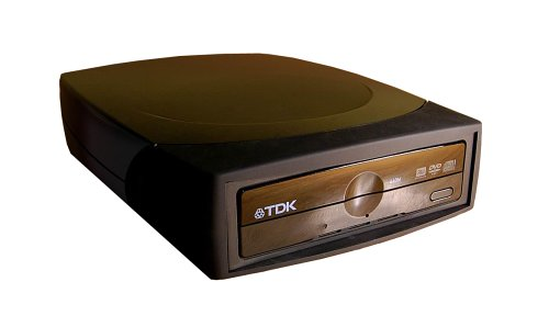 TDK External 4X Multiformat External DVD-Rewritable Drive