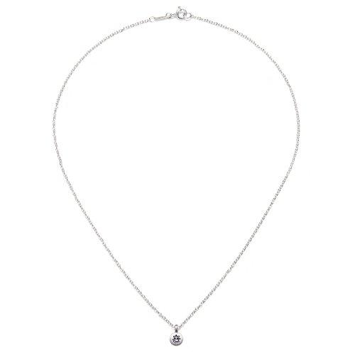 "Satya Jewelry Sterling Silver ""Great Advantage Ganesha"" Necklace, 18"""