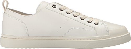 Chaussures Homme C114 En Cuir Lo Top Sneaker Blanc