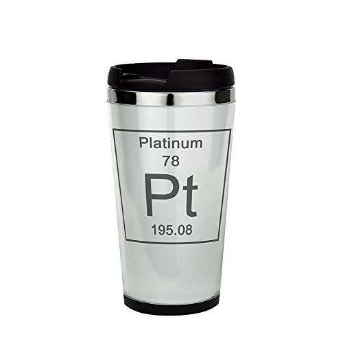 78. Platinum Mug 16oz. Drinking Cup, Travel Mug