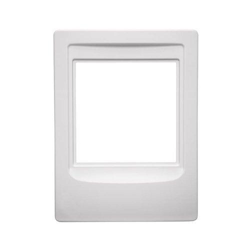 NuTone NF300PWH Outdoor Remote Station Retrofit Frame White Nutone Intercom [並行輸入品] B01LWZO7NR