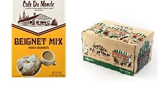 Cafe du Monde Beignet Mix And Single Serve Coffee & Chicory Boxed Set