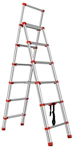 はしご アルミ台 伸縮はしご 家庭用折りたたみ何かポータブルラダーハンギングスツール多機能ノンスリップドゥクリーニングステップ 便座とフレーム (Size, Style1),Style2