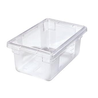 Amazoncom 5 Gallon Clear StorPlus Color Coded Food Storage Box 18