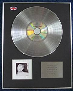 Price comparison product image KATE BUSH - Limited Edition CD Platinum LP Disc - THE WHOLE STORY