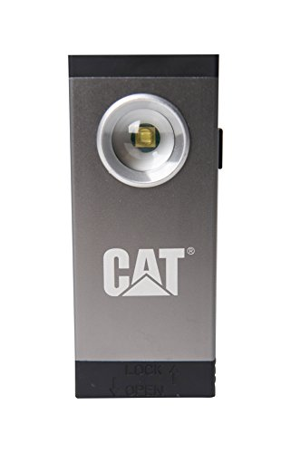 CAT CT5110 250 lm Pocket Spot Light with Magnetic Base, Gun Metal