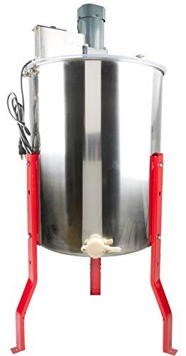 VIVO Electric 4 Four Frame Stainless Steel Honey Extractor Honeycomb Drum Spinner (BEE-V004E)