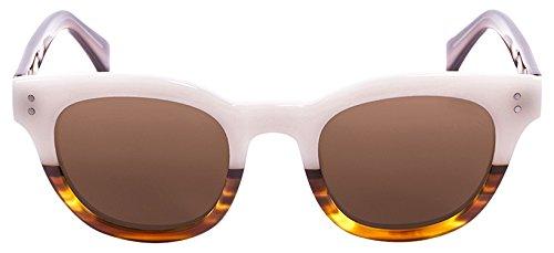 Lenoir Eyewear LE62000.6 Lunette de Soleil Mixte Adulte, Marron