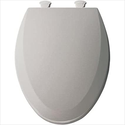 easy home toilet seat. Bemis 1500EC162 Molded Wood Elongated Toilet Seat With Easy Clean And  Change Hinge Silver Amazon Com
