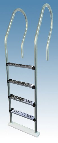Hi Rails Above Ground Stainless Steel Pool Ladder (Ladders Steel Stainless Pool)