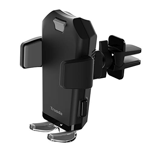Car Phone Mount,Cell Phone Holder for Car Auto-Clamping Air Vent Car Phone Holder Universal Car Cradle Mount Compatible iPhone Xs Max/XR/X/8/7, Galaxy Note 9 / S9 /S9 Plus / S8 / S7 / S6