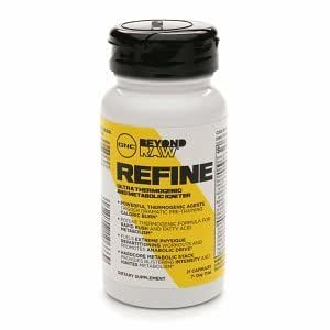 GNC Beyond RAW Refine Ultra Thermogenic and Metabolic Ignitor, Caplets, 21 ea