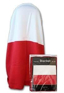 "Poland (Plain) - 50"" x 60"" Polar Fleece Blanket"