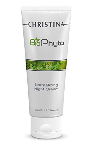 Bio Phyto Normalizing Night Cream – Daily Anti-Aging Face Moisturizer for All Skin Types, 2.5 fl oz. ()