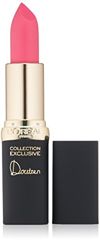 L'Oréal Paris Colour Riche Collection Exclusive Lipstick, Doutzen's Pink, 0.13 oz.