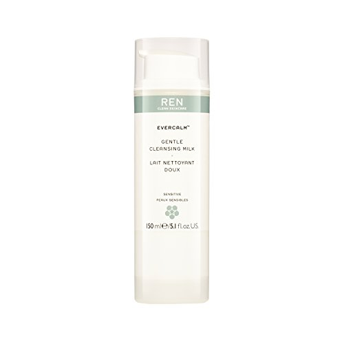 REN Skincare Leche Limpiadora Evercalm 150.0 ml: Amazon.es ...