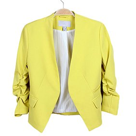 Catnew Womens Fashion Korea Style Candy Color Solid Slim Suit Blazer Coat Jacket