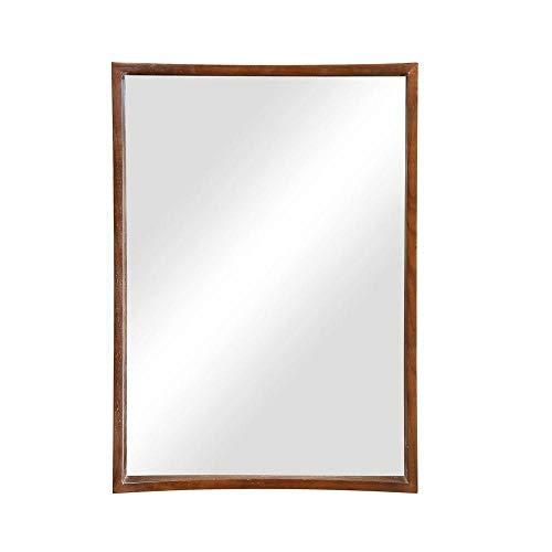 DECOLAV 9790-CGN Madryn 22-Inch Mirror, Cognac