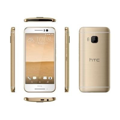 HTC One S9 Smartphone (12,7 cm  (5 Zoll) Super LCD Display, 1080x1920 Pixel, 13 Megapixel, 16 GB, Android) gold