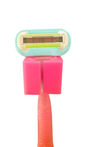 - izzi mo razorGrip (Hot Pink) - The New Suction Cup Shower Razor Holder loofah Holder Hook Gadget for Home or RV. Great Stocking Stuffer. Perfect for Travel.