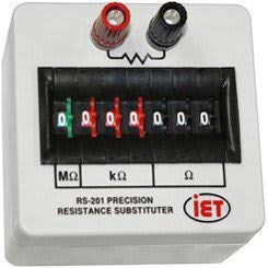 IET Labs RS-201 Precision Resistance Substituter
