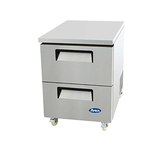 Undercounter Cf Refrigerator - Atosa MGF8415 27'' Two-Drawer Undercounter Refrigerator