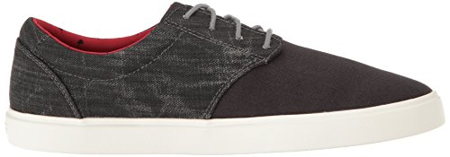 Crocs Mens Citilane Canvas Kant M Fashion Sneaker Zwart / Wit