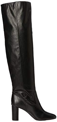 41 black Noir Eu 1 Bottes New 5894116 Femme Look Hautes TwBx8npYqZ