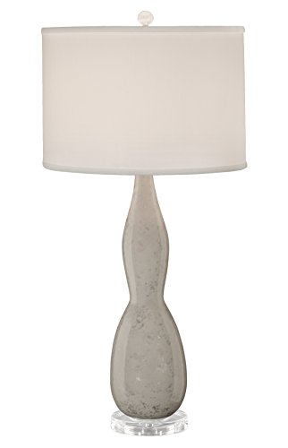 thumprints-1234-asl-2134-mercury-white-glaze-table-lamp-silver-overglaze-finish