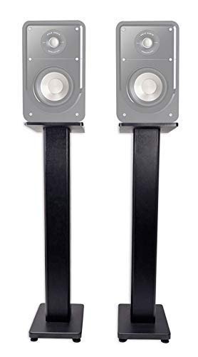 """Pair 28"""" Bookshelf Speaker Stands for Polk Audio S15 Bookshe"""