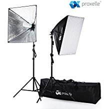 700W Photography Softbox Studio Lighting Kit 24'X24' - Get the perfect light for professional photography