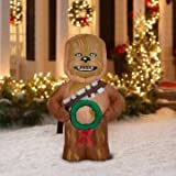Chewbacca Christmas Inflatable Star Wars Lawn Decoration – NEW 5 FT Airblown Inflatable by Gemmy