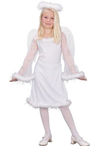 Fun World Kids Heaven Sent Girls Angel Costume - Large -