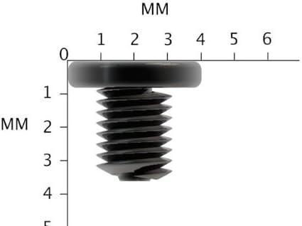 Lot de 12/m/² 3/x 3/x 3/mm Petite Vis pour ordinateur portable Noir Zinc pour ordinateur portable machine Vis /à t/ête Phillips//Cette Vis est utilis/é sur tous les Maquillage et mod/èle de lordinateur portabl