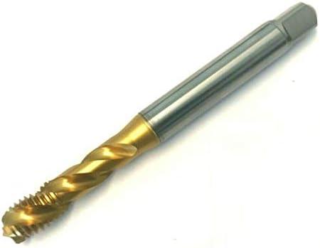 Gewindebohrer M5 - Regelgewinde DIN 371 Form C ISO2/6H - Qualität HSSE TiN - universelle Stahlbearbeitung