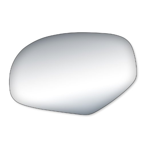 Fit System 99204 Cadillac/Chevrolet/GMC Driver/Passenger Side Replacement Mirror Glass (2008 Tahoe Driver Side Mirror)