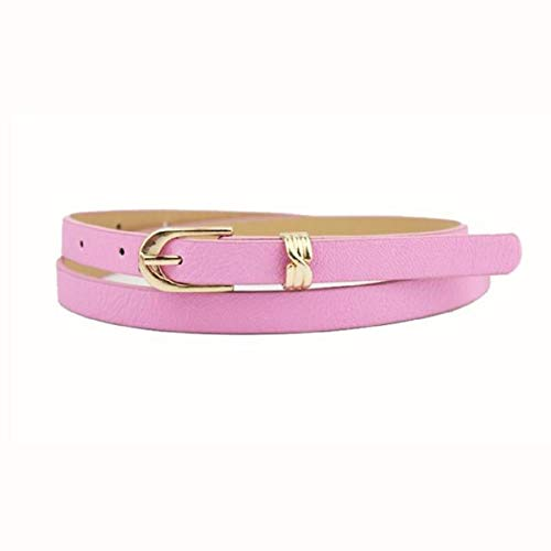 Belt For Jeans,Elegant Fashion Women Belt Candy Color Leather Waistband Dress Accessories,Running Waist Packs,Pink,2019 Clearance Sale